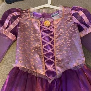 Disney Parks Rapunzel Dress.  Size Large.